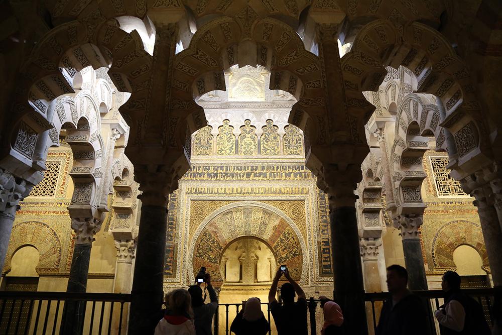 Mesquita de Córdoba, na Andaluzia