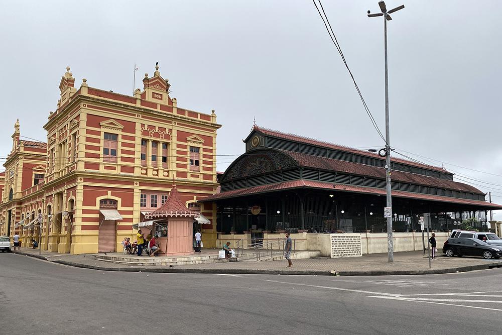 Mercado Municipal Adolpho Lisboa, centro antigo de Manaus