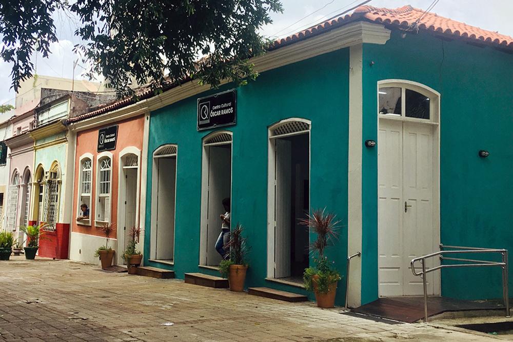Centro Cultural Óscar Ramos, Centro Histórico de Manaus