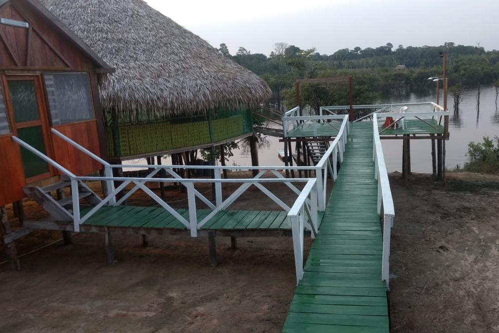 A pousada Amazon Taboca Lodge, reduto para a pesca de tucunaré