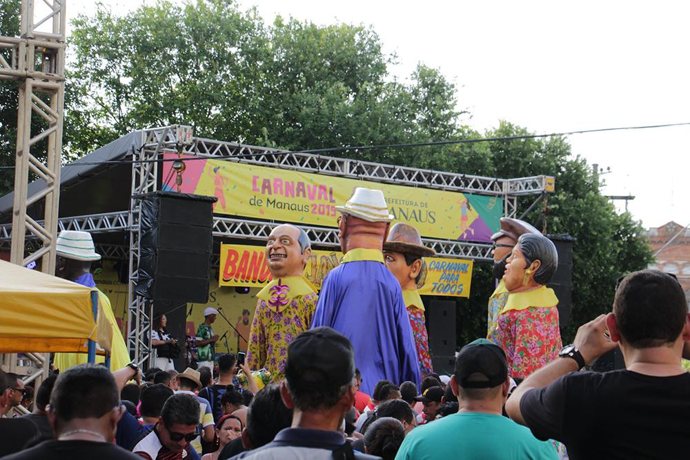 Bandas e blocos de Carnaval em Manaus