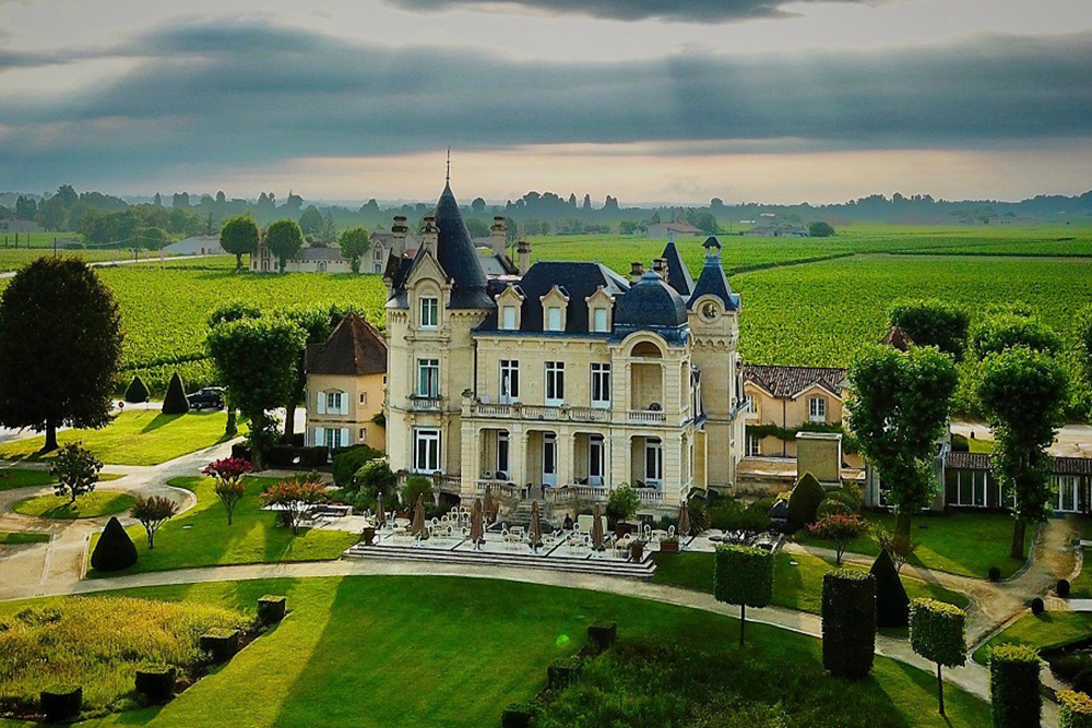 Château Hotel Grand Barrail, em Saint-Émilion