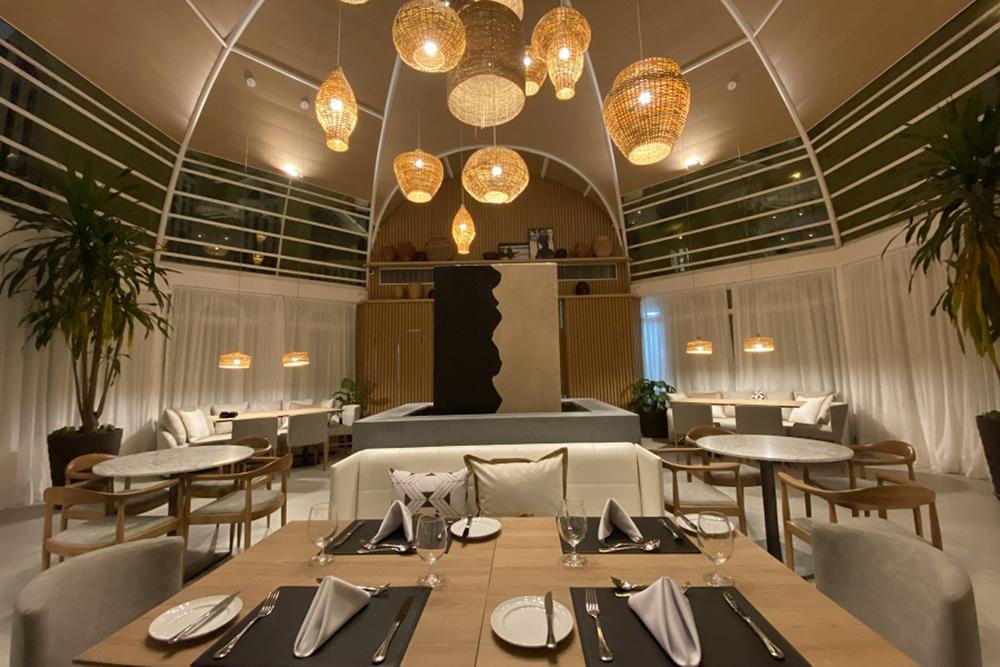 Restaurante Ópera, no hotel Juma Ópera