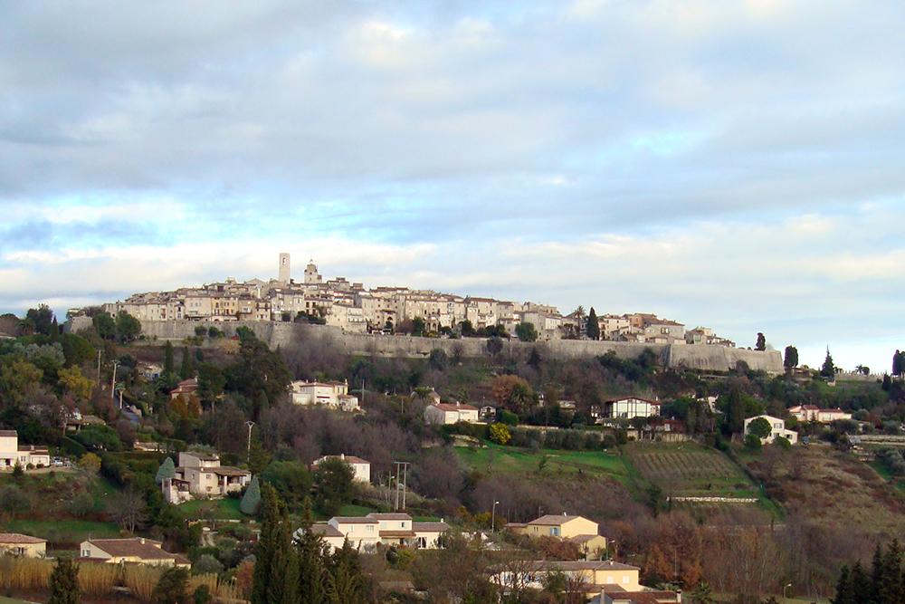 Saint Paul de Vence, na Riviera Francesa