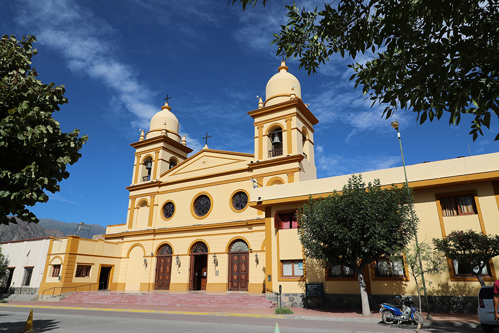 A Catedral Nuestra Señora del Rosario, em Cafayate.