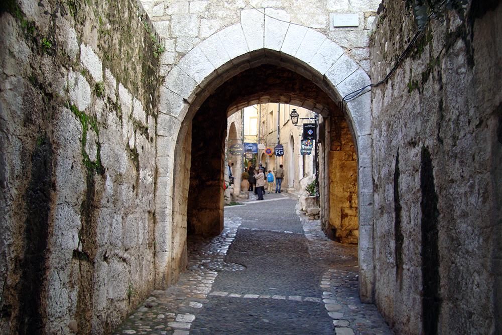 Saint Paul de Vence, no Sul da França
