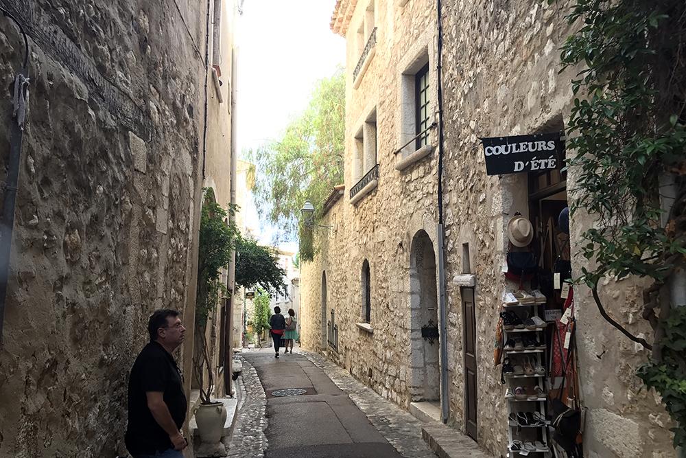 Saint Paul de Vence, na Côte D'Azur, na França
