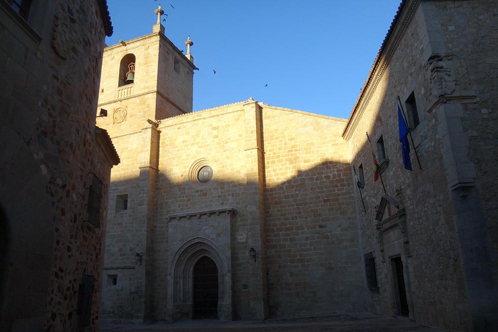Catedral de Santa María, em Cáceres
