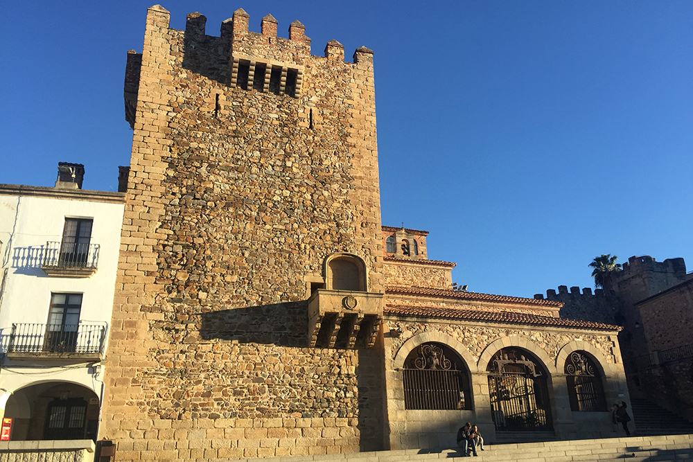 Plaza Mayor, em Cáceres