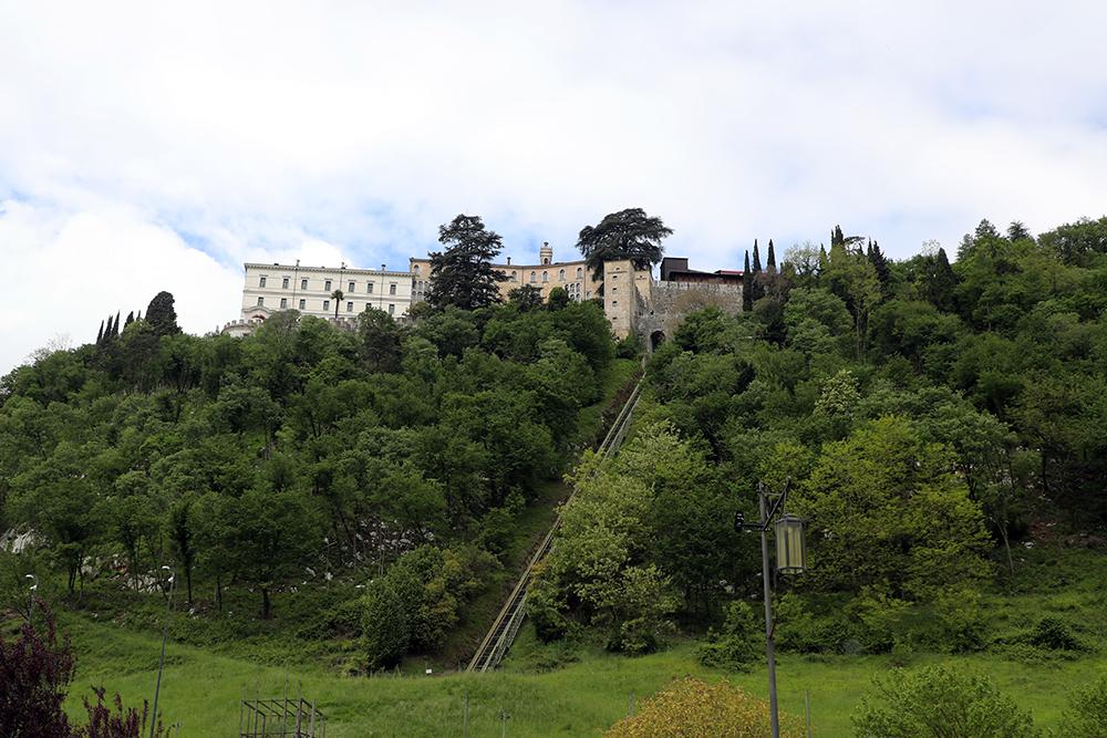 Castelbrando, em Cison di Valmarino, na Itália