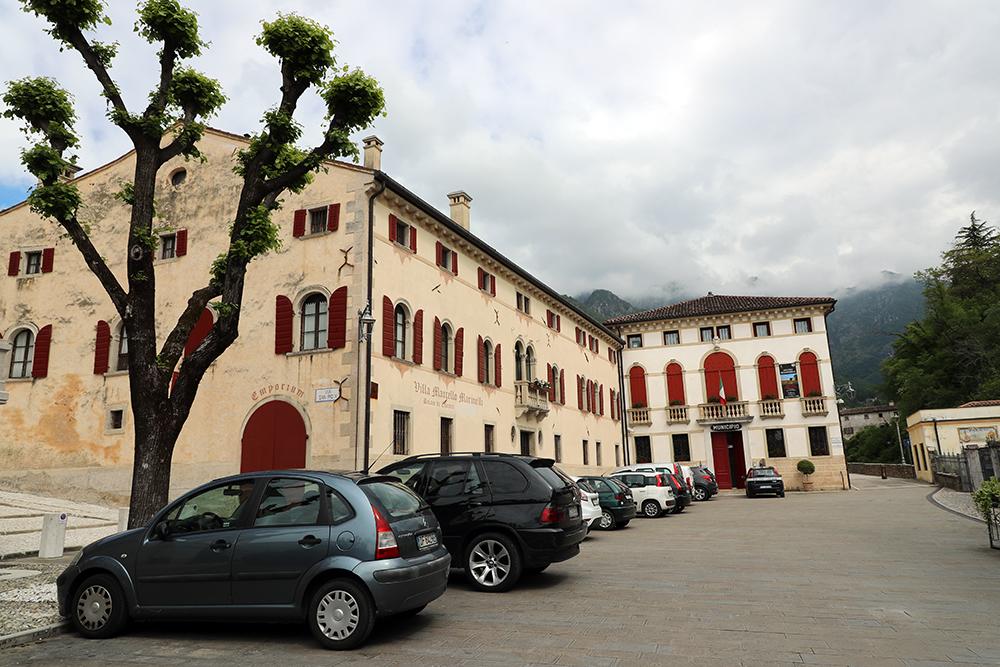 Cison di Valmarino, um dos burgos mais belos da Itália