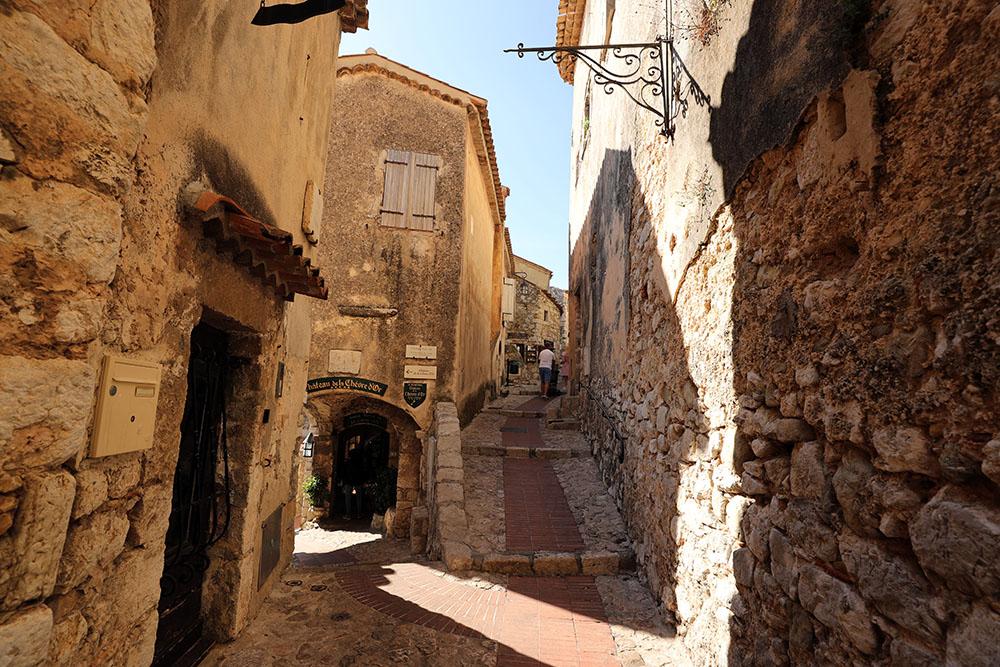 Èze Village, na Côte d'Azur, na França
