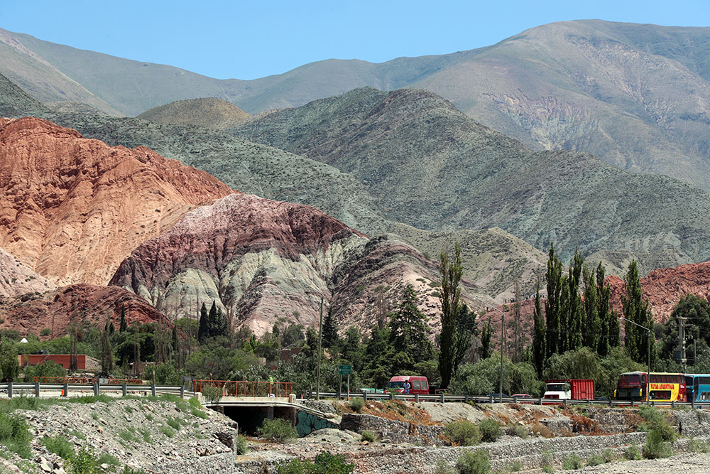 Cerro de Siete Colores, em Purmamarca, em Jujuy
