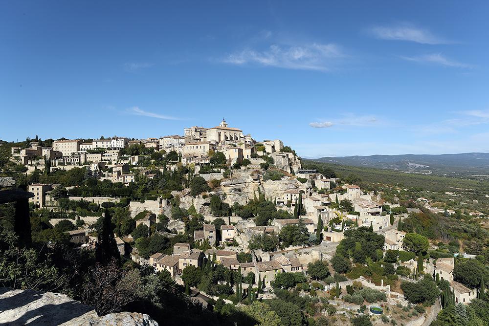 Gordes fica no Luberon, na Provence, no sul da França