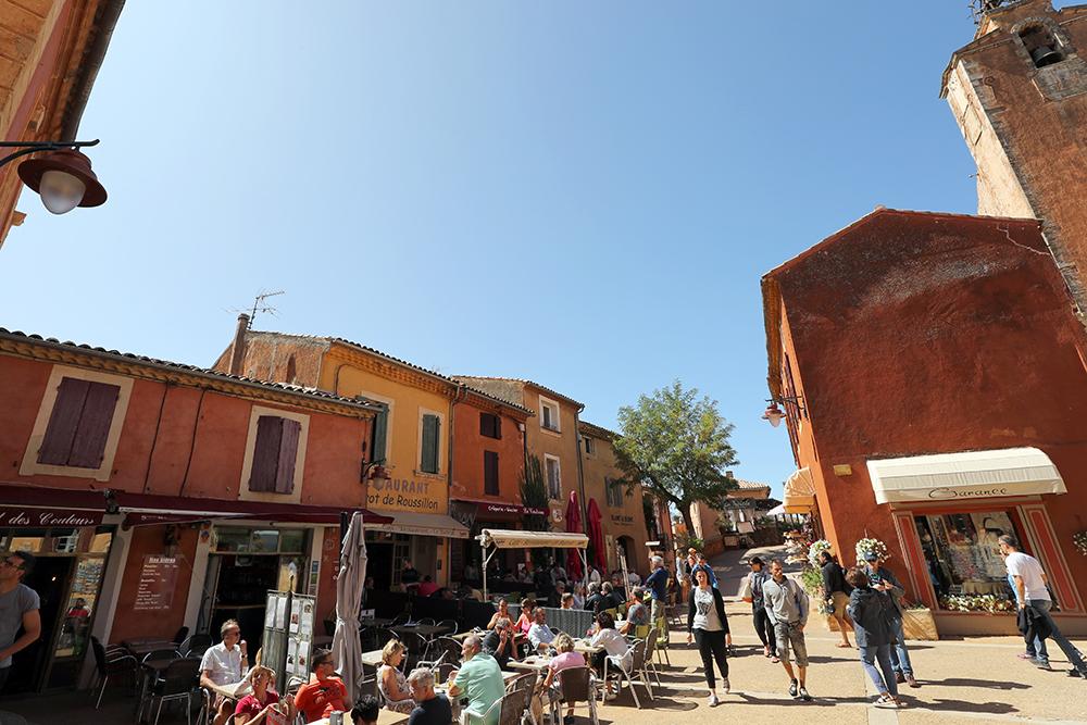 Roussillon, na Provence, sul da França