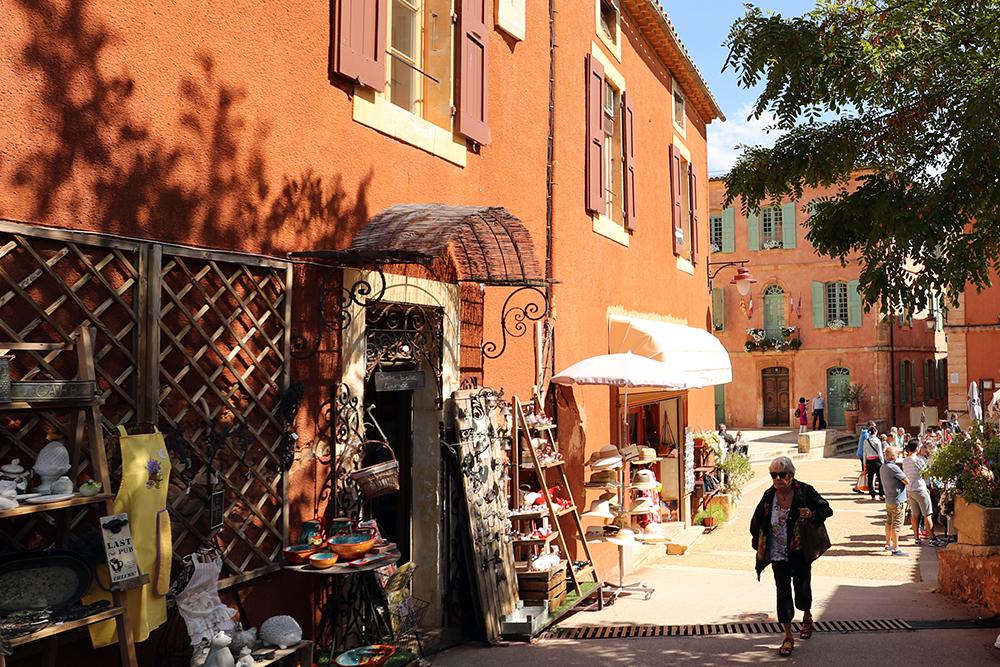 Roussillon, vilarejos na Provence, sul da França