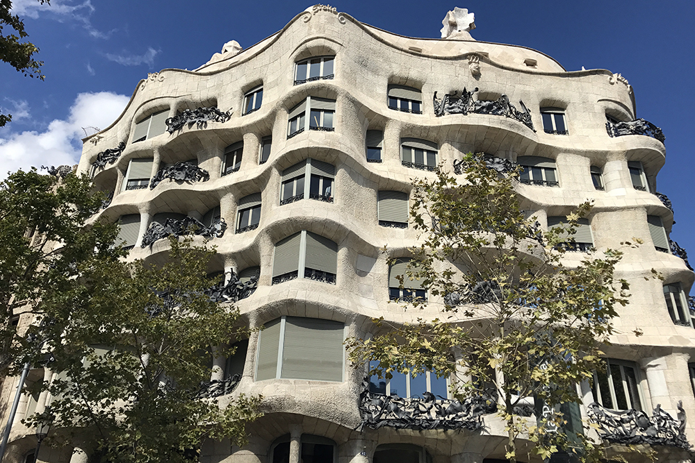 Casa Milà 'La Pedrera', a obra de Gaudí