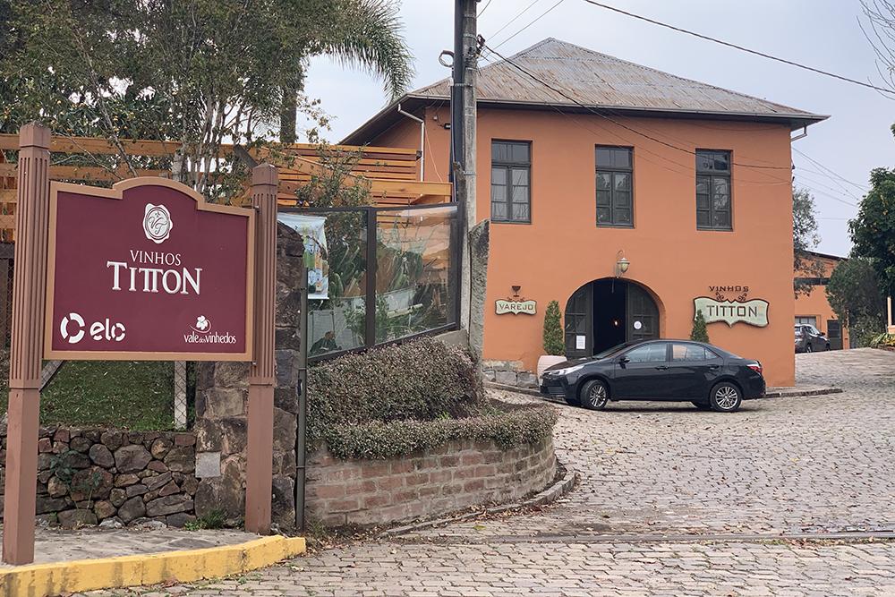 Titton, vinícola no Vale dos Vinhedos