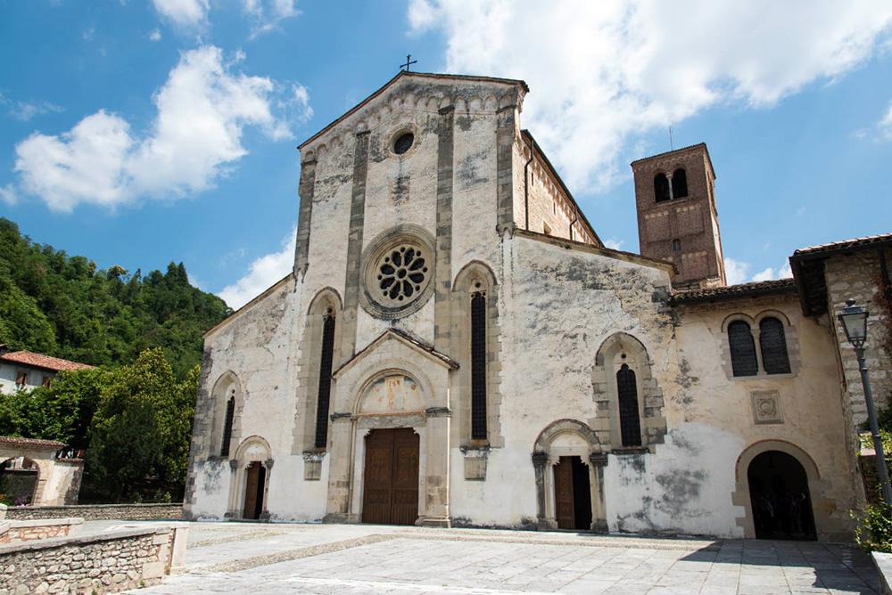 Abadia de Santa Maria, em Follina, nas Colinas do Prosecco