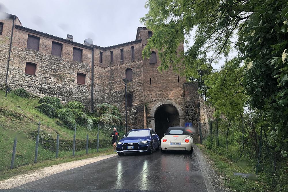 Conegliano, nas Colinas do Prosecco, na Itália