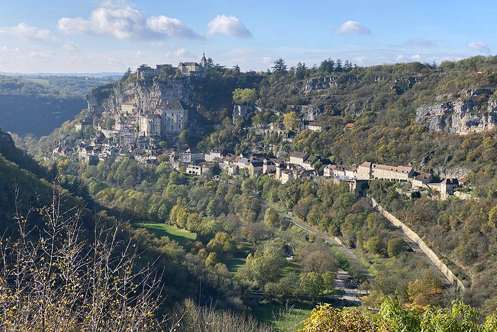 Rocamadour na Dordonha (Dordogne)