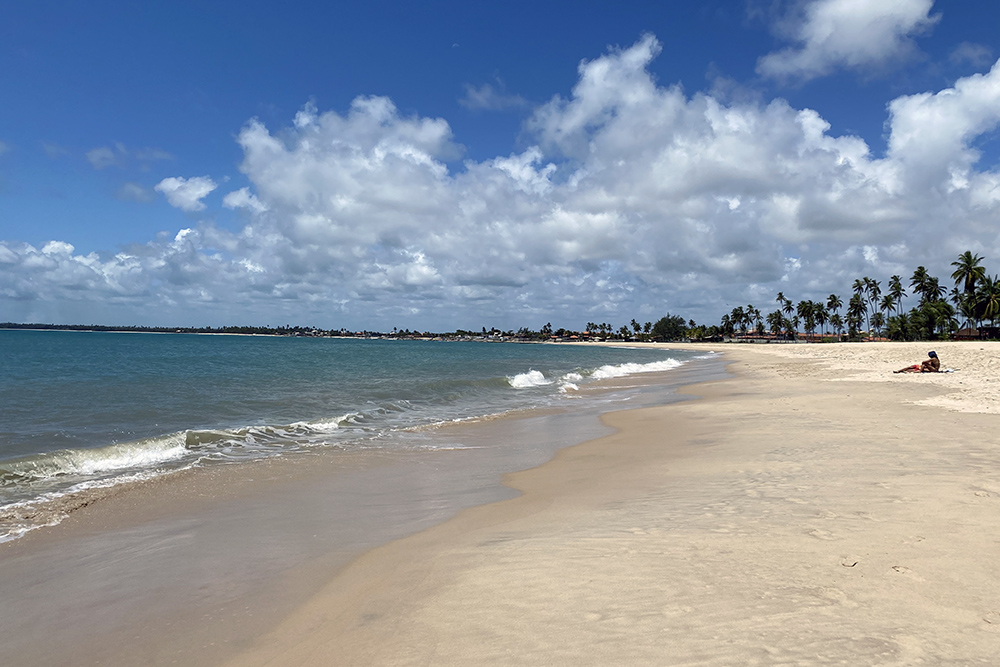 Praia de Serrambi, em Ipojuca, Pernambuco