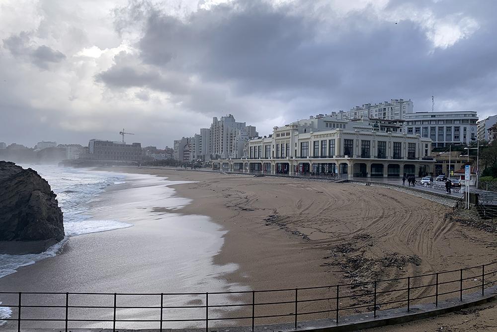 Biarritz, o elegante balneário francês do País Basco