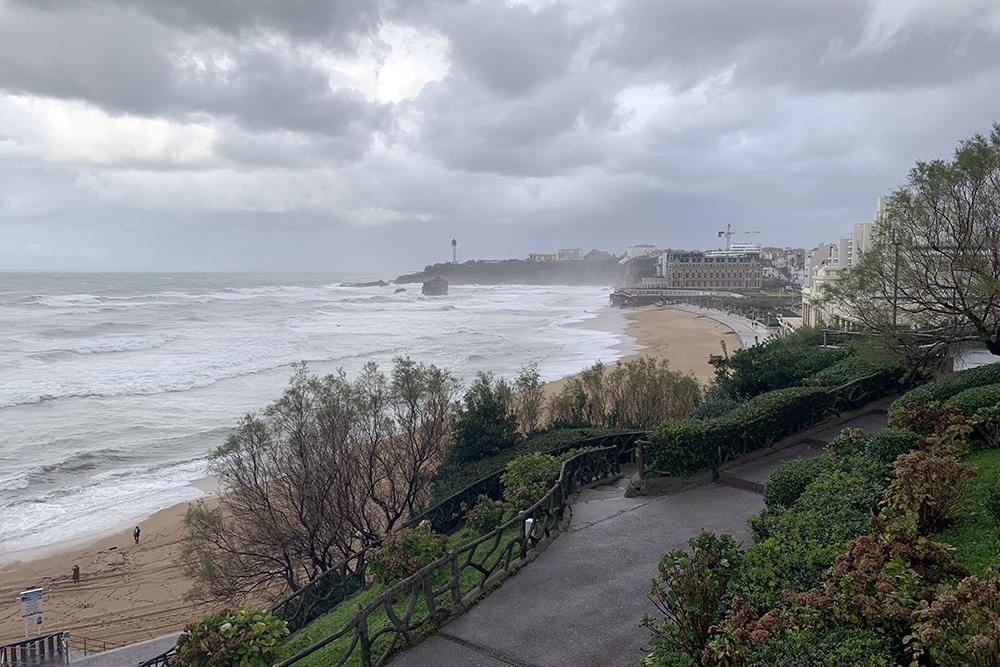 Roteiro por Biarritz