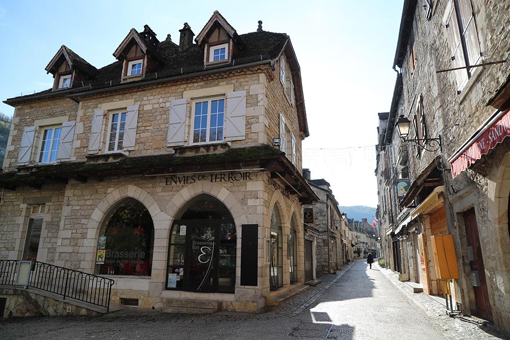 Rocamadour, a cidade sagrada medieval no sudoeste da França