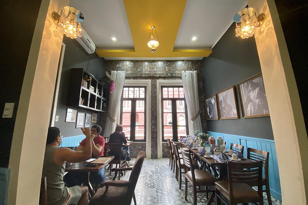 Piaf Restaurante traz romantismo dos cafés parisienses para centro histórico de Manaus